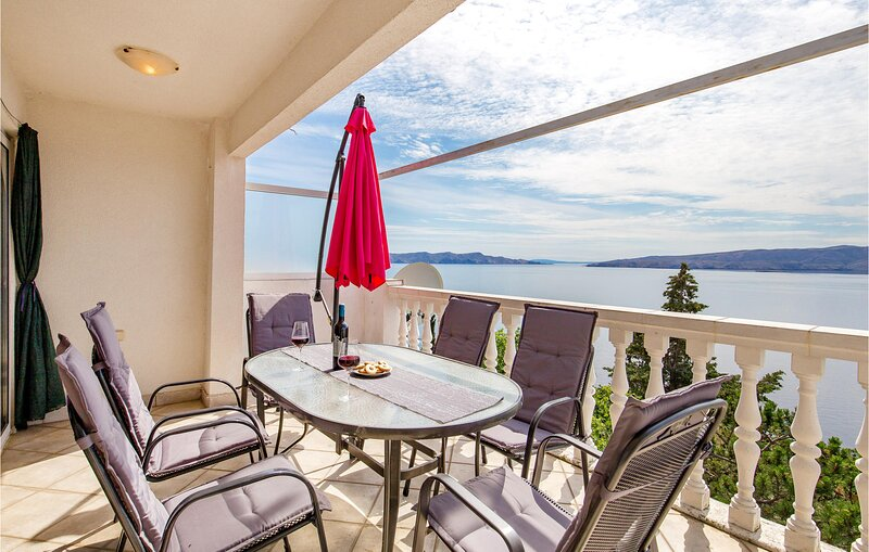 Awesome apartment in Senj with WiFi and 1 Bedrooms (CKV677), holiday rental in Sibinj Krmpotski
