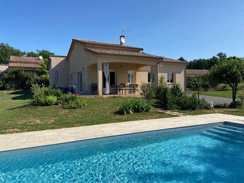 Maison avec Piscine 'La Grand Vigne', casa vacanza a Payzac