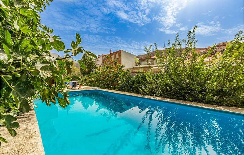 Nice apartment in MALAGA with Outdoor swimming pool, WiFi and 1 Bedrooms (EAS599, holiday rental in Almogia