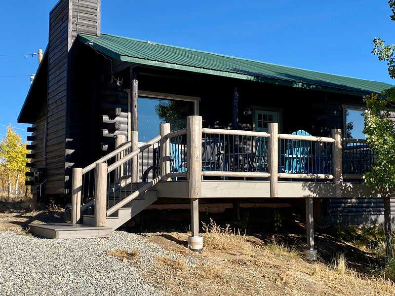 Modern cabin, holiday rental in Hartsel