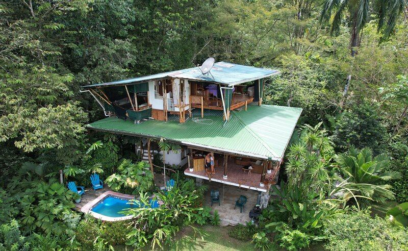 Corcovado 3 to 5 Bedroom Ocean View Luxury Home near Puerto Jimenez, holiday rental in Corcovado National Park