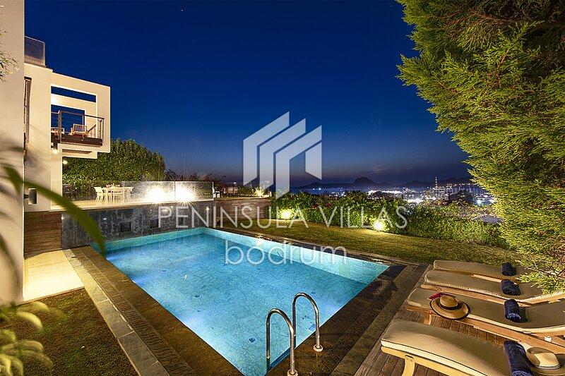 Villa Mon Reve LUXURY 5* YALIKAVAK VILLA with Private Pool, alquiler de vacaciones en Yalikavak
