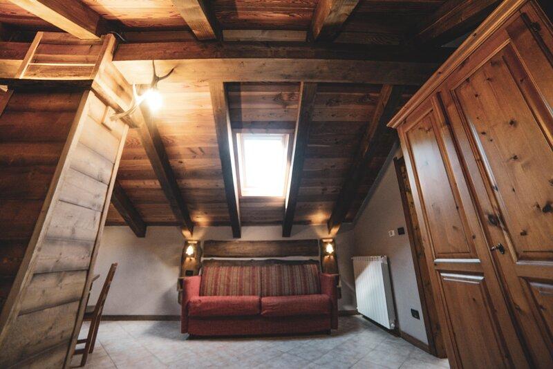 Monolocale 2 posti letto al residence Chalet della Guida, location de vacances à Bardonecchia