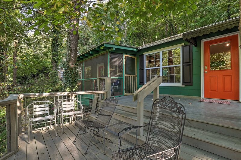 Updated Tryon Cabin on Pacolet River!, location de vacances à Tryon