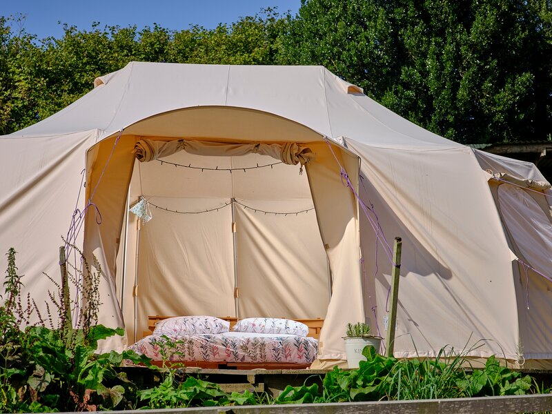 Buttercup Bell Tent, vacation rental in North Molton