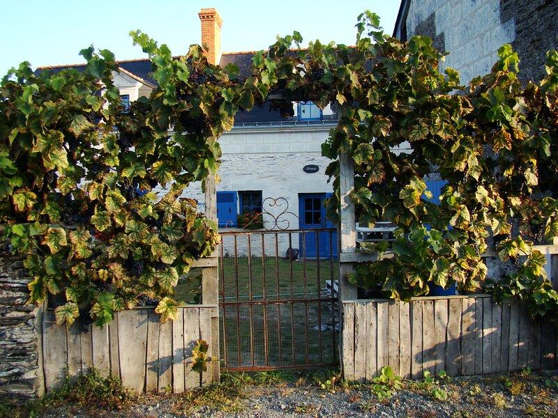 Charmant gîte des bords de Loire, Le Fournil., Ferienwohnung in Murs-Erigne