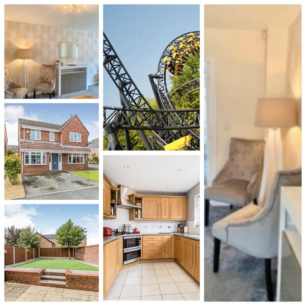 Central location,  free Parking,  Private Garden,  Large Living Space