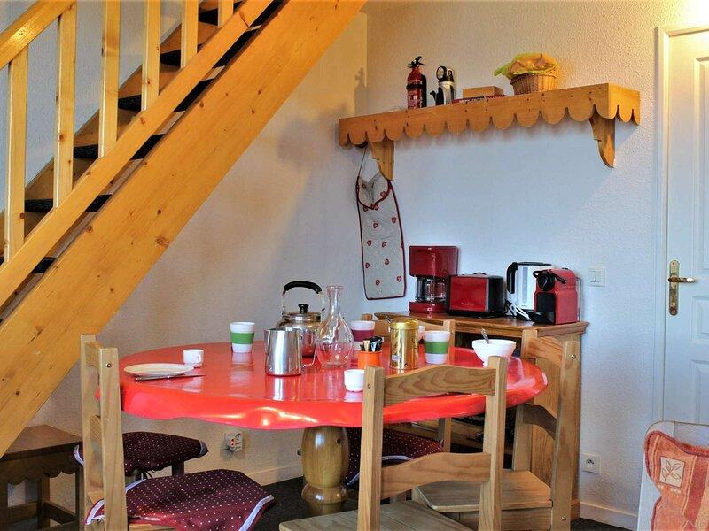 Appartement 3 Pièces 6 couchages Risoul 1850, aluguéis de temporada em Risoul