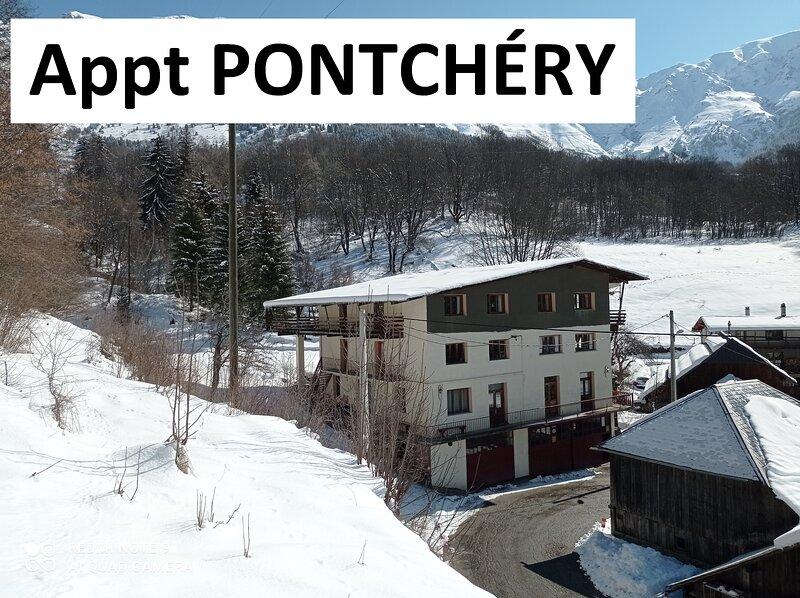 Logis St Roch - location saisonnière en Maurienne, casa vacanza a Saint-Remy-de-Maurienne