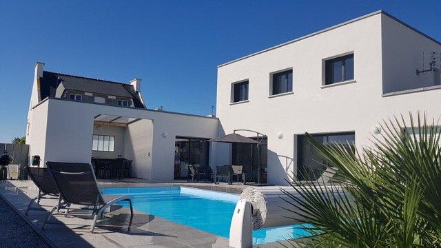 La Roskoker - Villa 4 chambres et piscine privée proche plage - Roscoff, alquiler vacacional en Ile-de-Batz