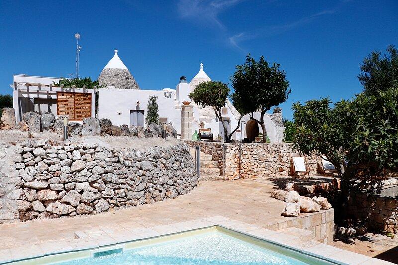Trullo a ll'éra, location de vacances à Villa Castelli
