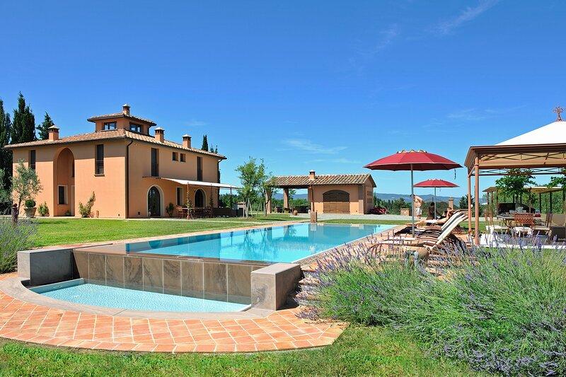 Villa Montelopio, holiday rental in Montelopio