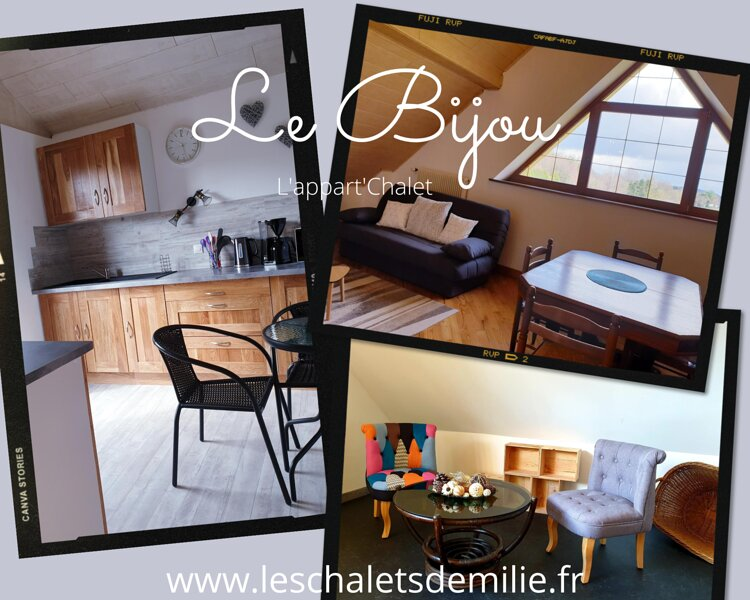 Gîte l'Appart'Chalet Bijou, holiday rental in Steinbourg