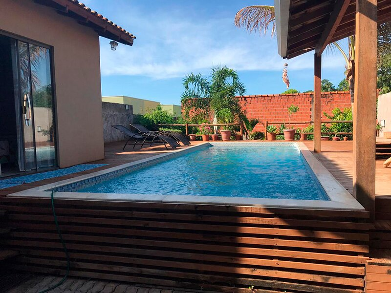 Excelente casa com piscina e churrasq em Bonito/MS, vacation rental in Bonito