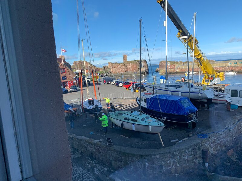 Safely harbour side for the winter