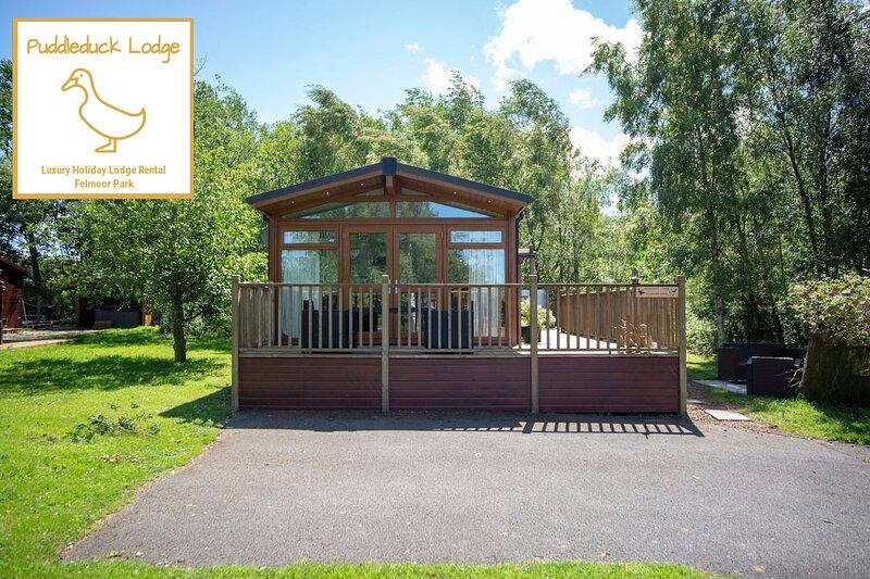 Puddleduck Lodge - Luxury Holiday Lodge in Morpeth, aluguéis de temporada em Felton