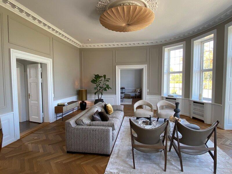 Rosenlund -a luxury Danish Palace north of Copenhagen, casa vacanza a Helsingør