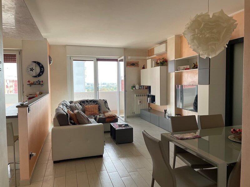 Appartamento luminoso,ben servito, alquiler vacacional en Calendasco