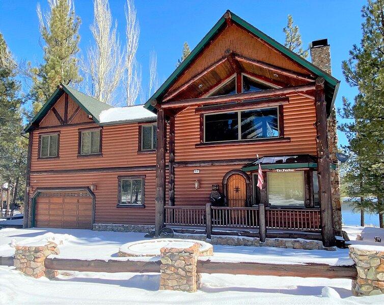 Casa De Oso Lakefront, holiday rental in Big Bear Lake