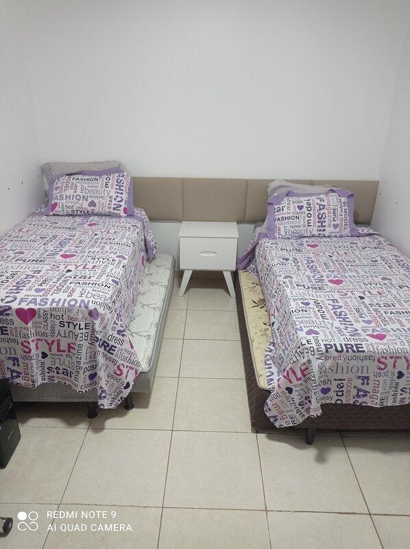 Apartamento em ótima localização com 2 quartos todo mobiliado perto de tudo., Ferienwohnung in Aguas Claras