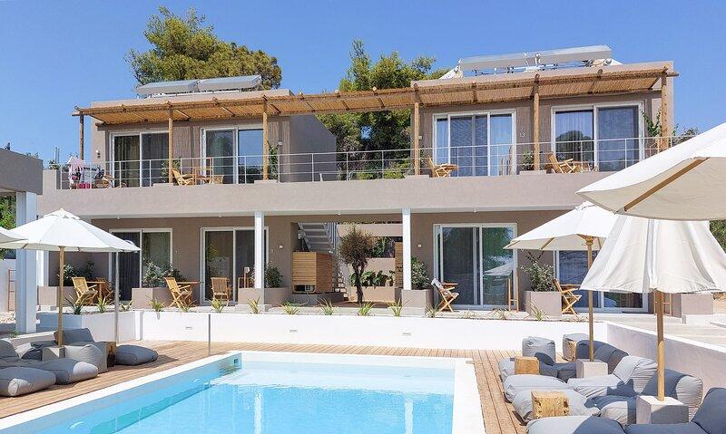 Arion Seaside Suites Apt 9, holiday rental in Palairos