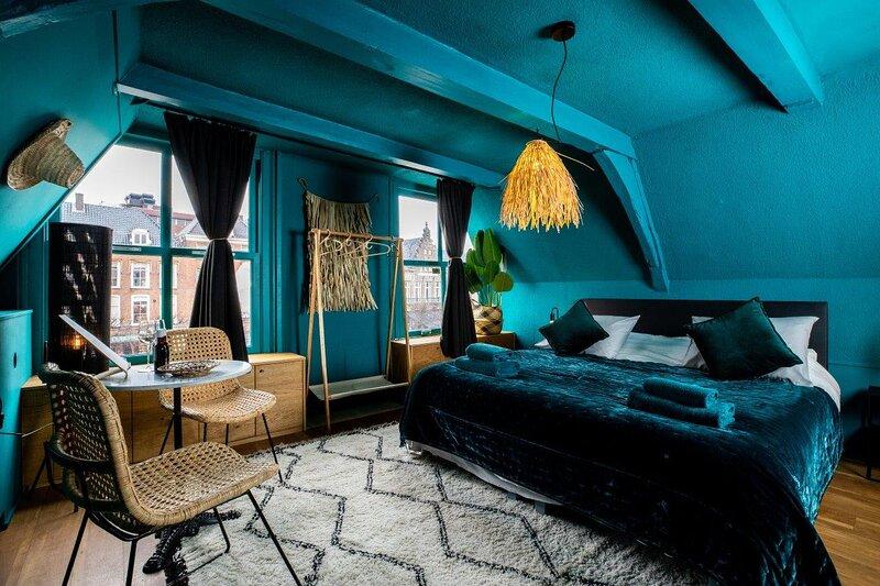Bambu Sleep Boutique double room 3, aluguéis de temporada em Haarlem