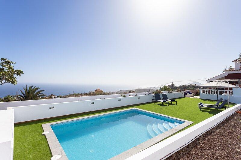 Villa Paraiso with pool, holiday rental in Brillasol