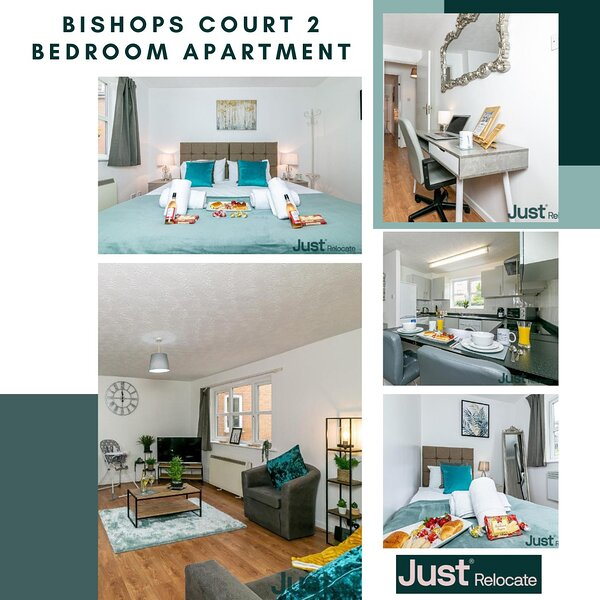 Bishops Court 2 bed Apartment with Parking in Oxford!!, vacation rental in Stanton Saint John