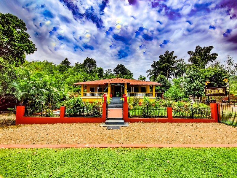 Jungle Manor - Nature Retreat, aluguéis de temporada em Torxem