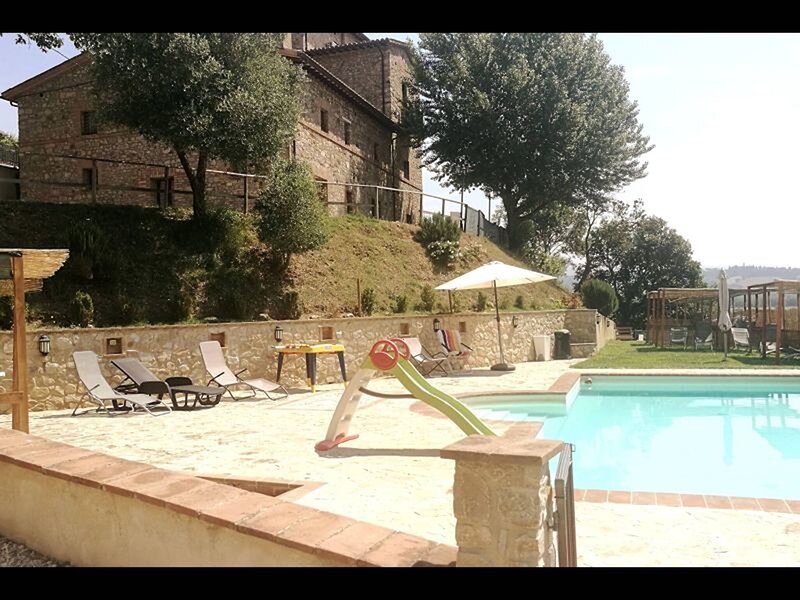 Appto Ortensia 1 Bedroom, Living Room,bathroom, holiday rental in Monte Castello di Vibio
