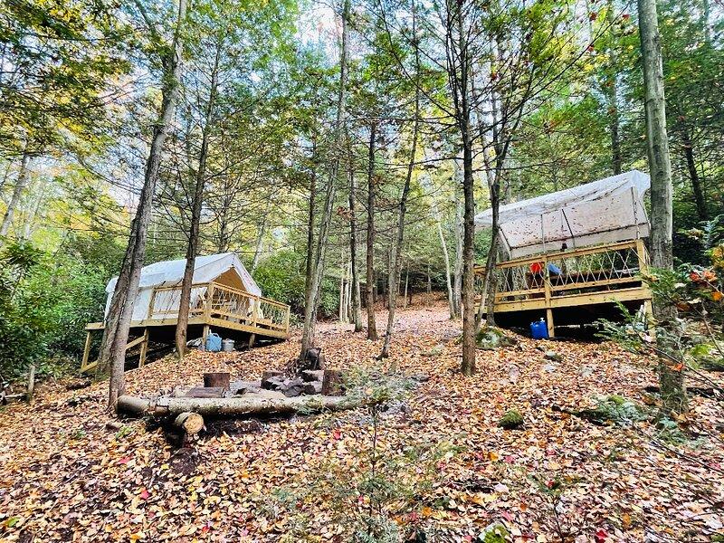 Tentrr Signature Site - Bear Creek Falls Getaway, alquiler de vacaciones en Lehighton