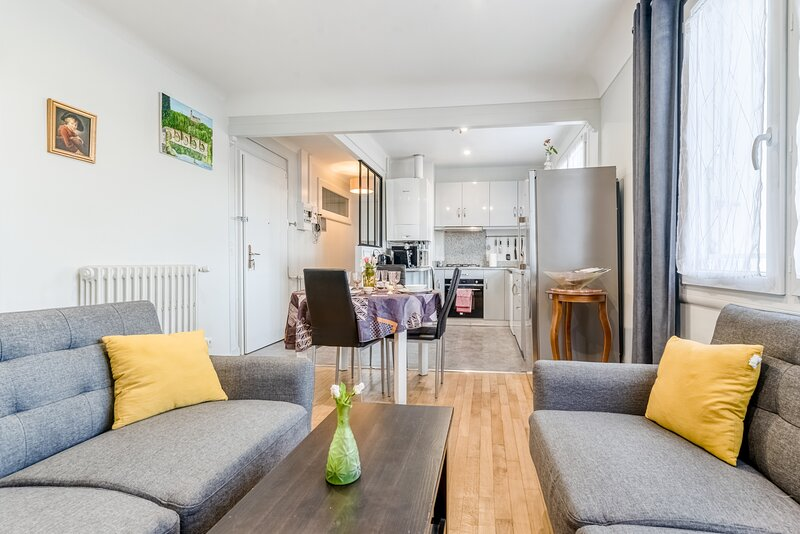 Palladium - Bel apt 3 chambres, holiday rental in Saint-Priest-sous-Aixe
