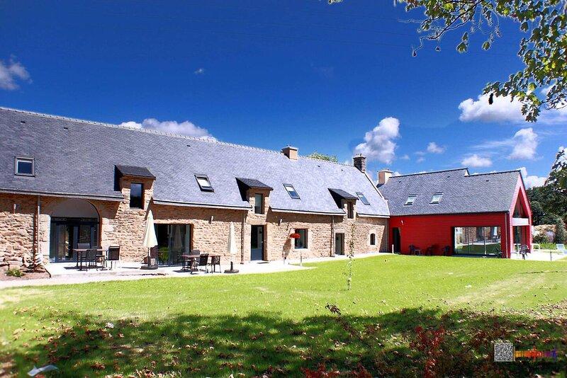 Nice house with shared pool & Wifi, holiday rental in Sulniac