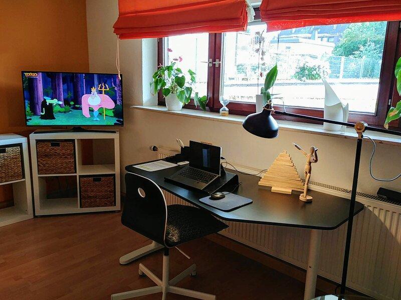 helle Souterrain Wohnung im Apartmenthaus-Abendsonne mit 5 Ferienwohnungen, location de vacances à Neuwied