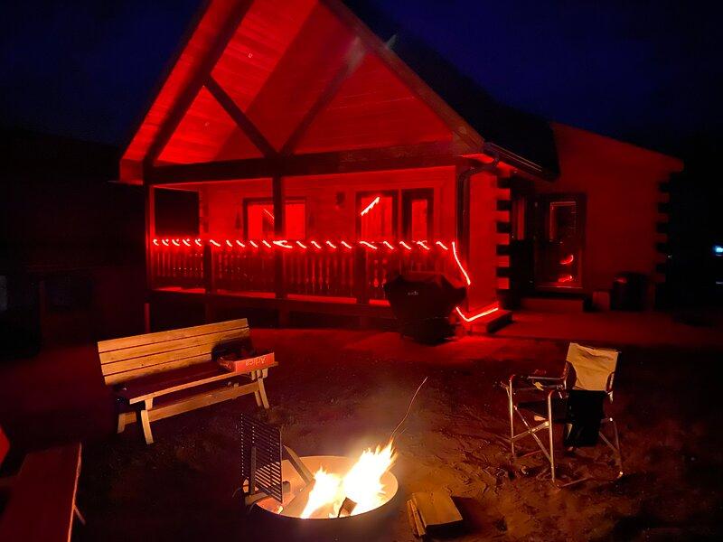 Villa Cabin Jellystone water park 3 Bears lodge, vacation rental in Black River Falls