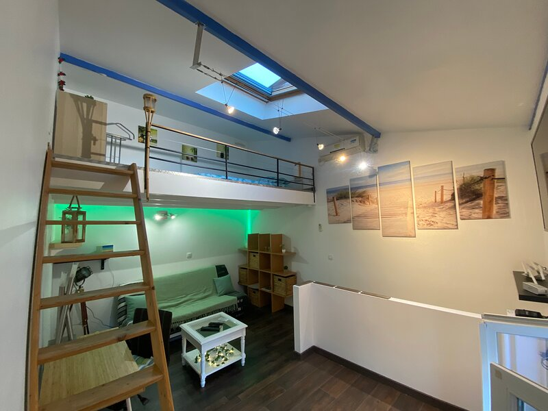 Charmant Duplex Talence cocooning, aluguéis de temporada em Martignas-Sur-Jalle