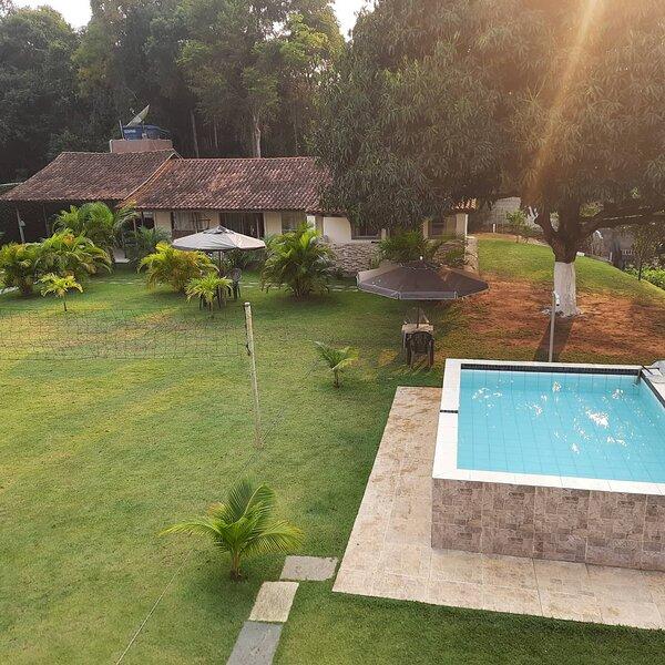 Chácara Guarapari ES, 7km Praia do Morro, 08 quartos, Exclusiva para seu grupo, location de vacances à Guarapari