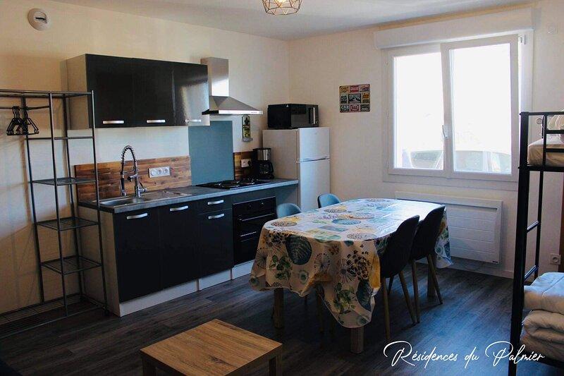 Les Résidences Du Palmier, Studio - 'VINTAGE' - Le Puy Du Fou, holiday rental in La Verrie