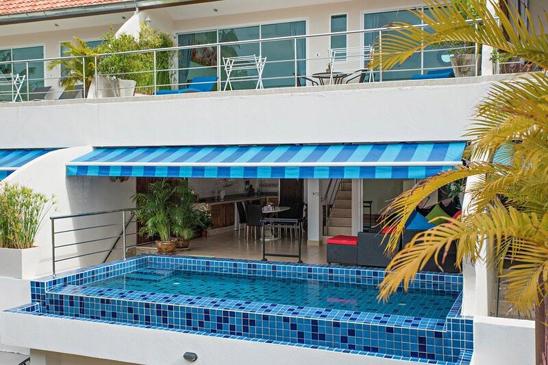 Nice apartment with swimming-pool, vacation rental in Ang Thong