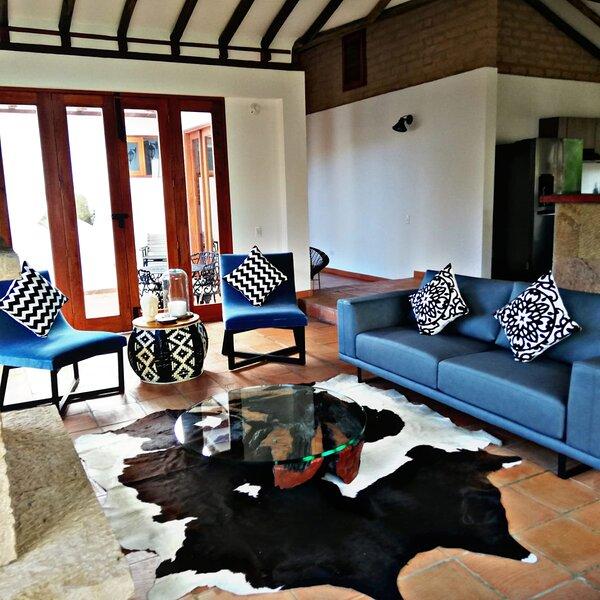 Casa Holly, tranquilidad, descanso y diseño en villa de leyva, alquiler vacacional en Villa de Leyva