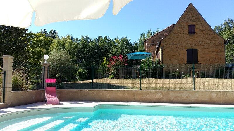 Au Bonheur d'Angeline, casa vacanza a Castelnaud-la-Chapelle