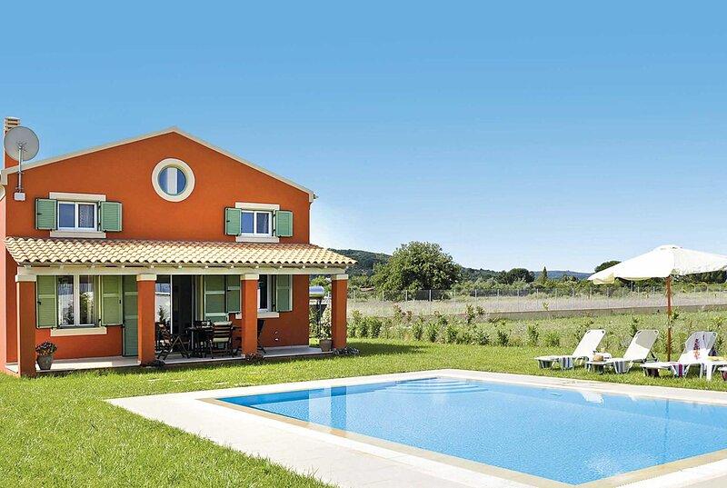 2 Bed countryside villa, 500 meters from beach, casa vacanza a Agios Spyridonas