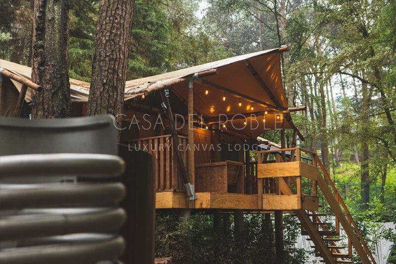 Nuez | Incredible logde in the forest with private jacuzzi, alquiler vacacional en Valle de Bravo