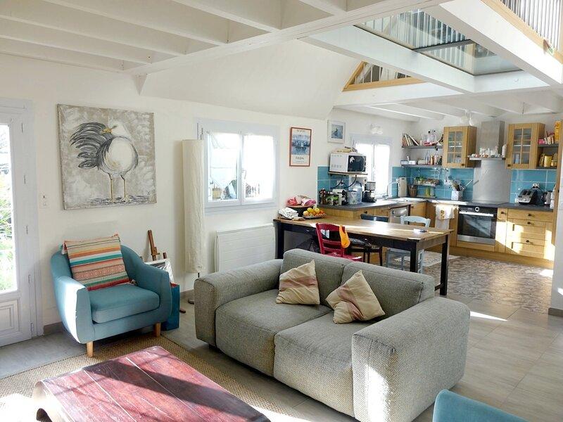 Maison 8 personnes, Idéale pour des vacances en famille, à quelques minutes des, casa vacanza a Saint-Armel