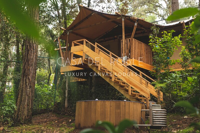 Pecana | Incredible lodge in the forest with private jacuzzi, alquiler vacacional en Valle de Bravo