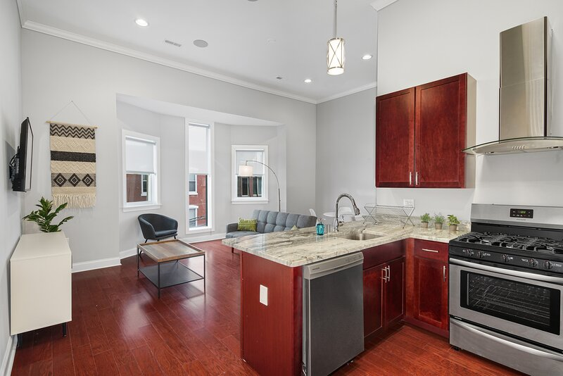 Private Place in Philly's Charming Queen Village, casa vacanza a Sicklerville