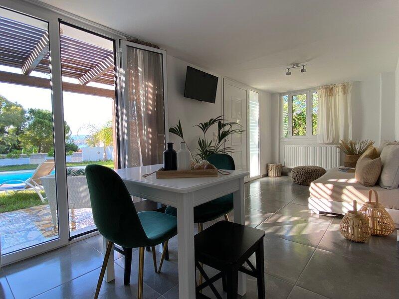 Island Cave - Aelia Apartment.. 1 Bedroom Lassi, holiday rental in Lassi