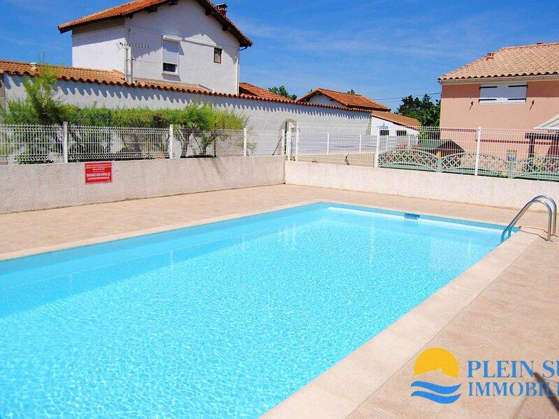 Maison de vacances dans résidence proche de la plage, casa vacanza a Marseillan