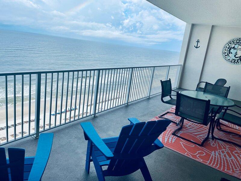 August Availability!!Huge Balcony!Best Panama City Beach Reviews!! Many Extras!!, holiday rental in Panama City Beach
