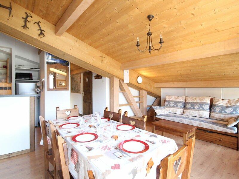 SPO017M Appartement spacieux pour 6 personnes avec très belle vue montagne, casa vacanza a Bramans